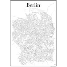 suchergebnis auf f r stadtplan berlin poster. Black Bedroom Furniture Sets. Home Design Ideas