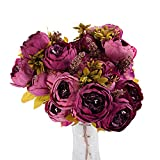 zahuihuiM Wohnaccessoires & Dekoration Künstliche Gefälschte Blumen 2 Bouquet 5