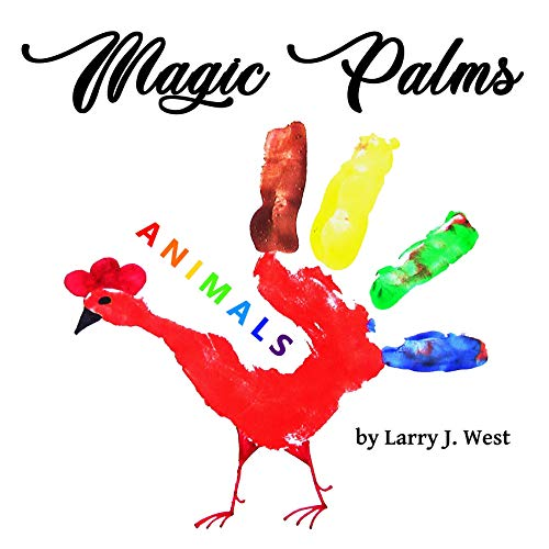 Magic Palms. Animals: Picture Book For Kids (English Edition) -
