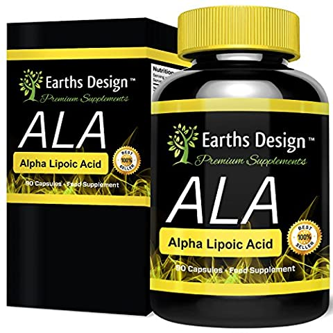 Acide Alpha-Lipoïque 250mg - AAL - Antioxydant - Alpha Lipoic Acid - 90 Capsules (3 Mois d