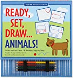 Ready,Set,Draw...Animals! (How to Draw Activity Book) (Young Artist)