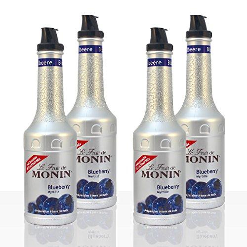Monin FruchtPüree Mix Blueberry Heidelbeere 4 x 1l