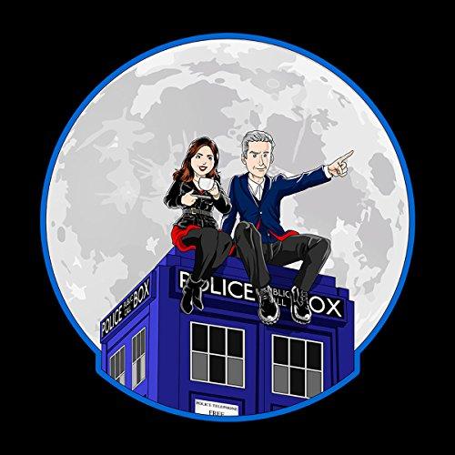 Doctor Who And Clara Men's Vest Black