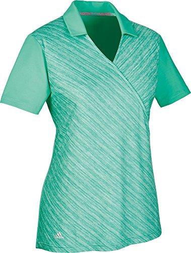 Adidas Wrap Golf Polo, Damen, Grün, L (Adidas Golf Wrap)