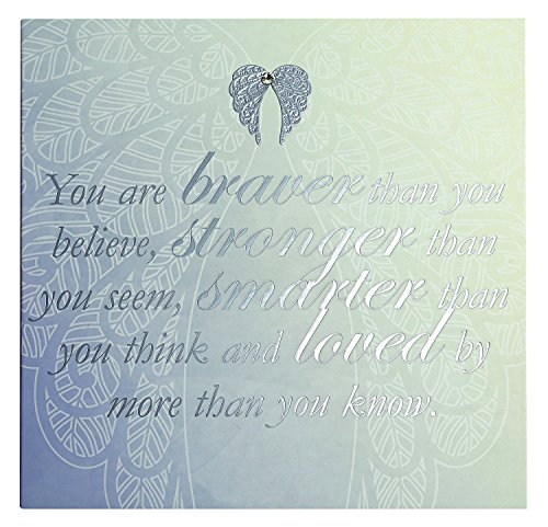 Price comparison product image You Are An Angel Cards - You Are Braver Than You Believe, Stronger Than You S...