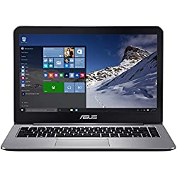 "ASUS E403NA-GA016T - Ordenador portátil de 14"" (Intel Pentium N4200, 4 GB de RAM, disco duro eMMC de 128 GB, Intel HD Graphics 500, Windows 10 Original) gris - teclado QWERTY español"