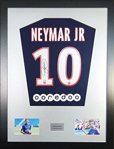 Neymar-Jr-PSG-Signed-Shirt-Display-with-COA