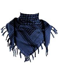 Palituch Tie dye Batik schwarz blau grün farbig Kufiya PALI Schal Tuch Fransen