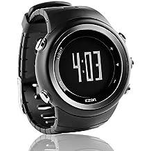 EZON T023 Relojes deportivos digitales de los hombres Reloj de pulsera al aire libre con alarma