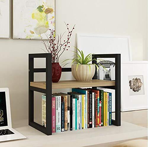 Desktop Kleine Bücherregal Büro Rack Drucker Lagerregal Einfache Home Office Freistehende Display Regal Größe: 20 * 40 * 20 Cm (Color : D1) -