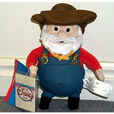 Rare Disney Retired Toy Story Prospector 9 Plush Bean Bag Doll Mint with Tags