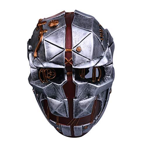Cosplay Kostüm Dishonored - K-Flame Halloween Cosplay Dishonored Maske Erwachsenen Kostüm Zubehör Waffen Maskerade Masken für Mottopartys Kostüm Prop