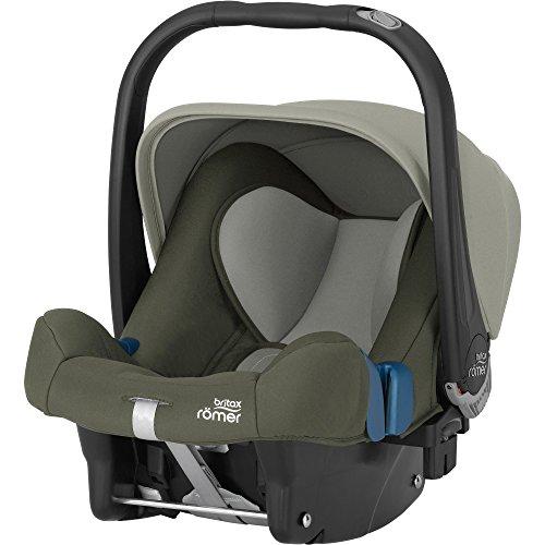 Britax Römer 2000025657-Ovetto Baby Baby-Safe II, Gruppo 0Plus (nascita-13kg), collezione 2017, Olive Green