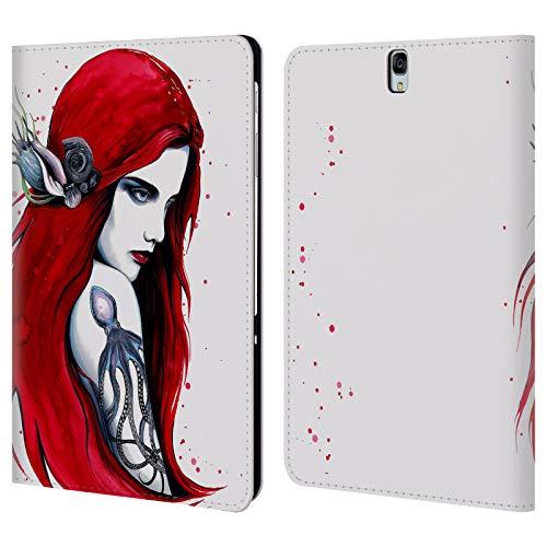 Head Case Designs Offizielle Pixie Cold Stadt Ariel Göttin Brieftasche Handyhülle aus Leder für Samsung Galaxy Tab S3 9.7 - Ariel Leder