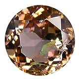 0,75 ct Rundschliff (6 x 6 mm) Ungeheizter lila Tanzanit Natur lose Edelstein