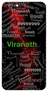 Viranath (Lord Of The Brave) Name & Sign Printed All over customize & Personalized!! Protective back cover for your Smart Phone : Moto X-STYLE
