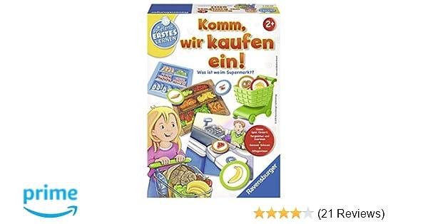 Ravensburger Spiele 24721 - Spielend Erstes Lernen: Komm, wir kaufen ...