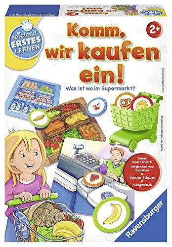 einkaufen spiel Ravensburger Spiele 24721 - Spielend Erstes Lernen: Komm, Wir kaufen Ein