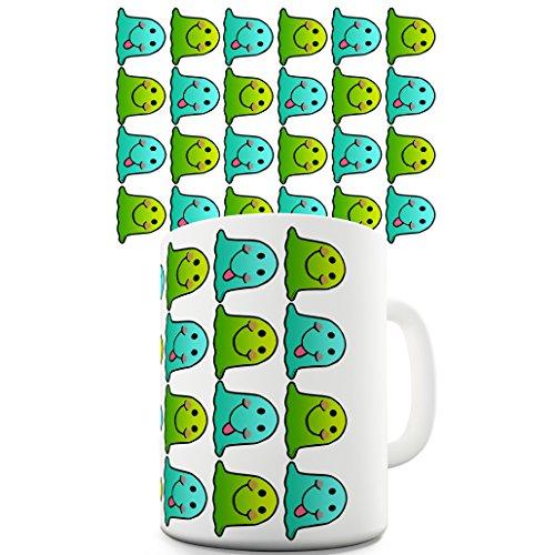Becher Happy Emoji Pattern ()