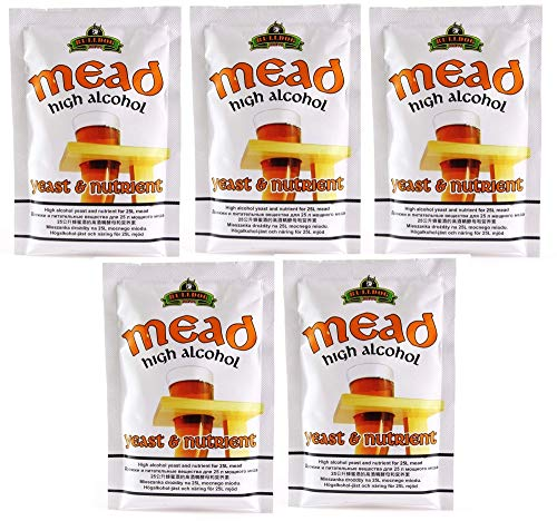5 x Honig Hefe Bulldog Mead