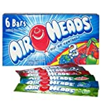 #1: Air Heads Assorted 6 Individually Bar, 94g