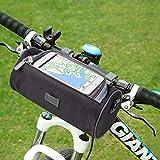Lenkertasche, NTMY Wasserdichte Fahrradtasche mit transparentem PVC-Beutel und abnehmbarem Schultergurt