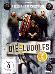 Die Ludolfs - 4 Brüder auf'm Schrottplatz - Staffel 5 - Kein Blech! [3 DVDs]