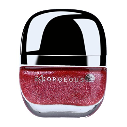 18ml auf Wasserbasis waschbar Nagellack mingfa. Y Spaltbar Nail Art polnischen Abziehen Liquid, rot (ändern Der Farbe Nagellack)