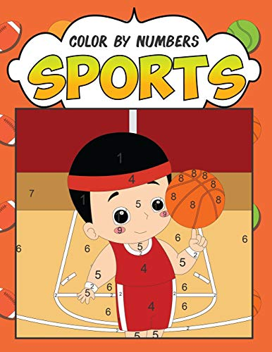 Cabrera Jersey (Color by Numbers: Sports: A Fantastic Color By Number Coloring Book for Boys and Girls Who Love Football, Soccer, Basketball, Baseball, Hockey and ... (Color by Numbers for Kids ages 4-8, Band 1))
