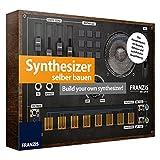#1118 Lern-Spielzeug Synthesizer zum Selberbauen Bausatz mit Platine, Gehäuse und Handbuch • DJ Mixer Modellbausatz Baukasten Keyboard Set