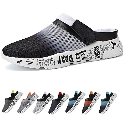 Hombre Zapatillas Zuecos Sandalias Malla de Playa Antideslizante Deportes Zapatos Chanclas de Verano Tamaño 39-46 EU