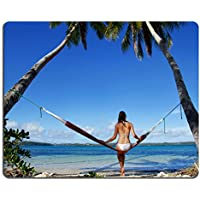 Gomma Naturale Luxlady Gaming Mousepad giovane donna