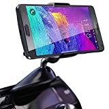 Koomus CD-Eco Universal CD Slot Smartphone Car Mount Holder Cradle for Samsung Galaxy S5 S4 S3 Galaxy Note 3 Note 2 iPhone 5S 5C 5 4S 4 iPod Touch