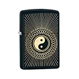 #9: Zippo 29423 Yin Yang Brass Lighter (Black)