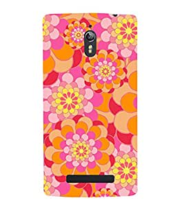 printtech Abstract Design Back Case Cover for Oppo Find 7 QHD