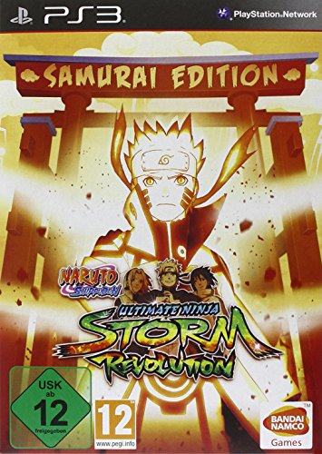 Naruto Shippuden: Ultimate Ninja Storm Revolution - Samurai Edition - Ninja Ultimate Ps3 Naruto