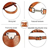 Women Bag Casual Vintage Shoulder Bag Handbags Cross Body Bag Large Capacity Bags Brown