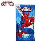 Marvel MV15066 Telo Mare Spiderman 70x140 cm 100% Cotone Asciugamano. MWS