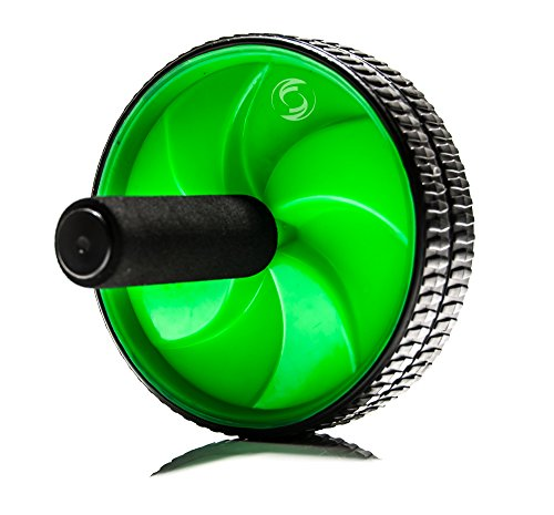 Functional Fitness Ab Wheel Roller Exerciser Dual Top Shredder Wheel - for Your Abdominals