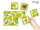 Mi huerto Secreto - Rompecabezas Magnético en la nevera- Juguete De Puzzle De Niño, Salga del Laberinto, 3 Niveles de Partido. Imán de decoración para la nevera, perfecto como idea original de regalo para infantil, niños o niñas