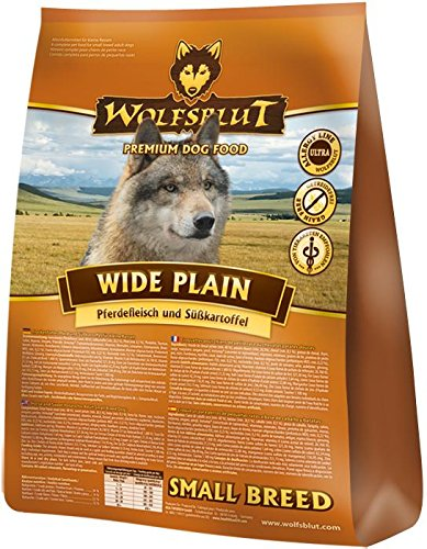 Wolfsblut Wide Plain Small Breed, 1er Pack (1 x 2 kg) - Food Dog Yorkie