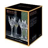 Spiegelau & Nachtmann, 4-teiliges Universal-Weinkelch-Set mit Schliffdekoration, Kristallglas, 240 ml, Imperial, 0093426-0 - 4