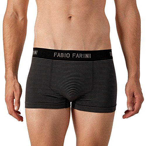 Fabio Farini 4er-Pack seamless Herren Boxershorts aus Microfaser set 33