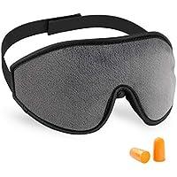 FONGFONG 3D Schlafmaske mit Schalldicht Ohrstöpseln Gedächtnisschaum Augenmaske Super Weich Bequem Sleep Mask... preisvergleich bei billige-tabletten.eu