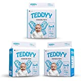TEDDYY Baby Disposable Changing Mats Size - 60 X 60 cm (Pack of 30)