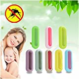 HKFV Newest Creative Convenience Portable Mosquito Ourdoor Badge Button Repeller Superb Mosquito Repellent Clip For Baby Pregnant Woman