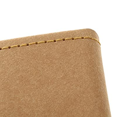 IJARP Lightweight Large Space Sunglasses Protect Hard Kraft Paper 3-Folding Case