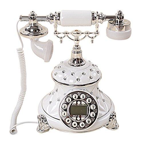 Telefoni voip dell'annata antica di fascia alta moda e creative personalità fisso retrò telefono telefono continental retro telefono