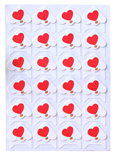 5 Sheets Diy Tagebuch-Aufkleber Cotton Photo Corners Liebe