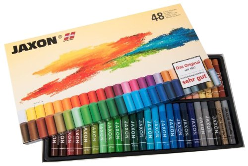 Jaxon 47448 Pastell Ölkreiden, 48er Pack